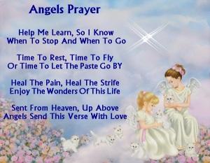 söta ängel