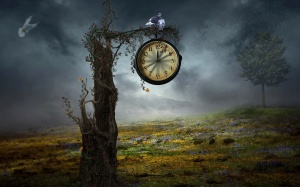 clock-on-the-tree-artistic-hd-wallpaper-1920x1200-43380